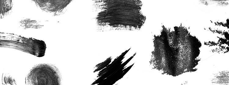 Jess's Acrylic Texture Photoshop Brushes designers freebies