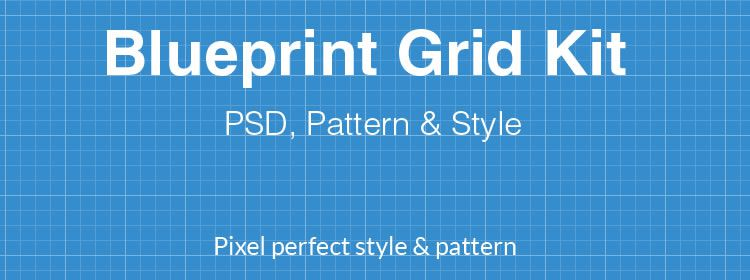Pixel Perfect Blueprint Pack psd designers freebies