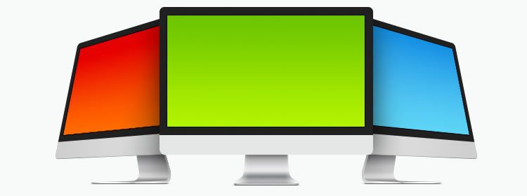 iMac Templates designers freebies