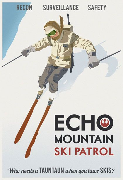 poster travel star wars hoth
