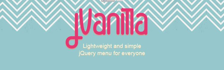 jVanilla Menu is a simple jQuery menu plugin