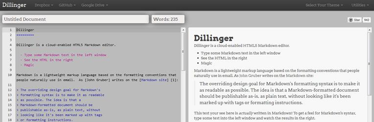 markdown editor online