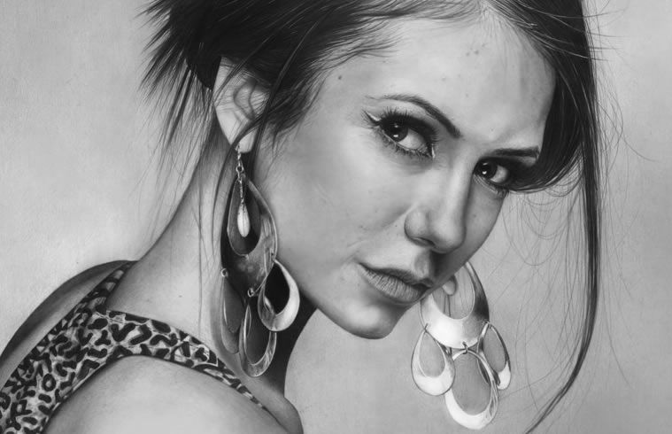 drawings portrait realistic pencil
