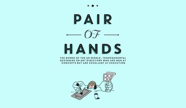 Pair of Hands workwankers illustration