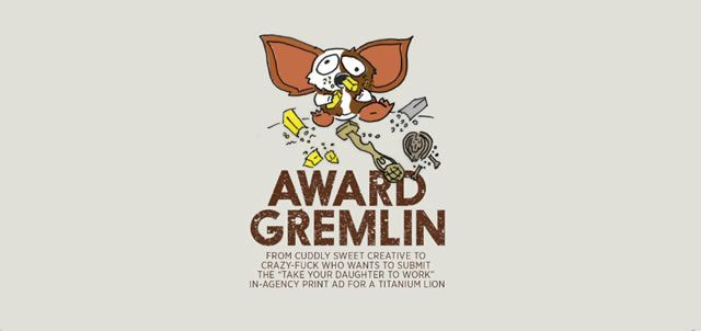 Award Gremlin workwankers illustration