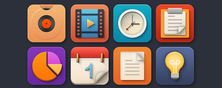 Flat Jewels Icon Set Best Free Icon Sets