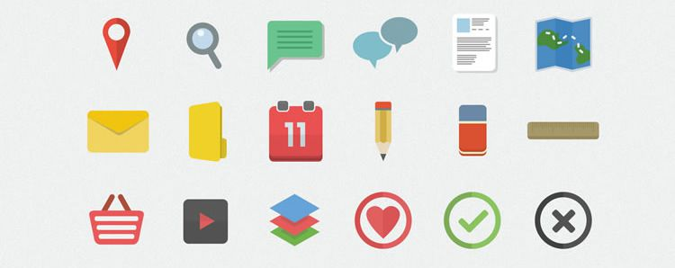 Flatilicious Flat Icon Set Best Free Icon Sets