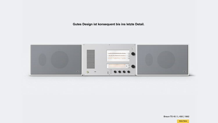 Dieter Rams Inspired Series by Kirill Zhylinsky