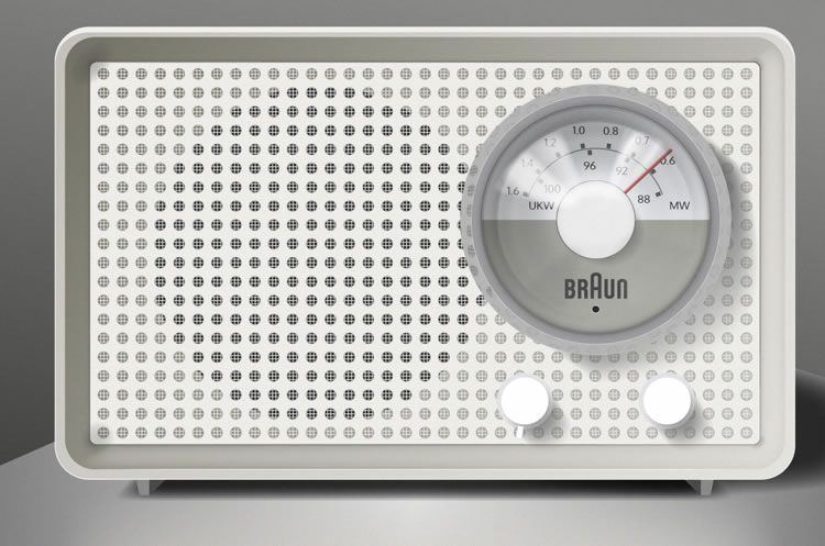 illustrated inspired Braun Radio Illustration by Marc Nash