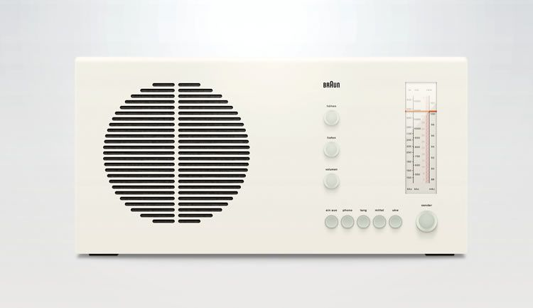 illustrated inspired Braun RT20 by Kevin Andersson