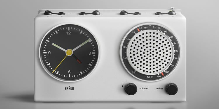 illustrated inspired Braun Radio by Sean Ouyang