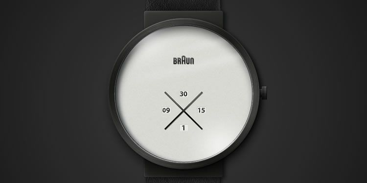 illustrated inspired X-Watch by Simen Myklebust