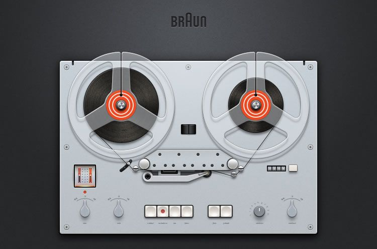 illustrated inspired Braun GT 60 by Shaodj
