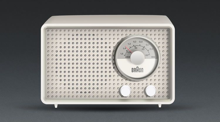 illustrated inspired Radio 1955 Artur Braun by Nick