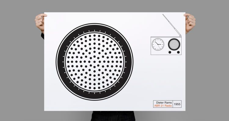 illustrated inspired Tribute to Dieter Rams by Osme Pietro