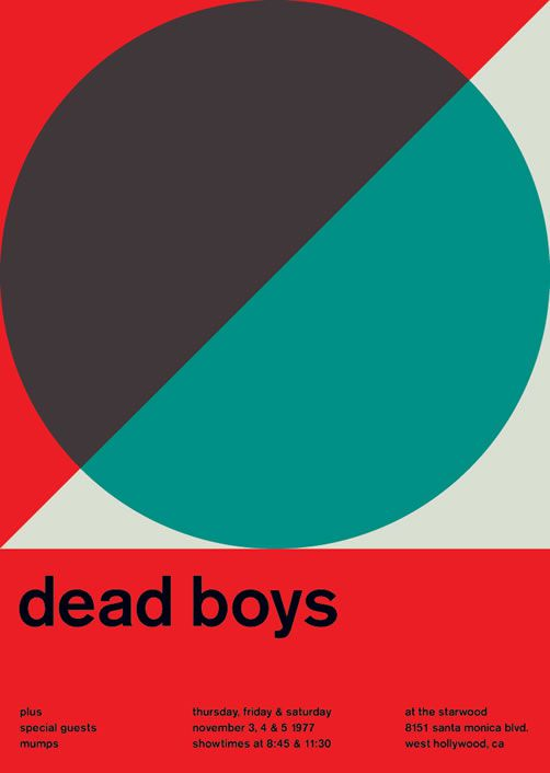 Dead Boys poster