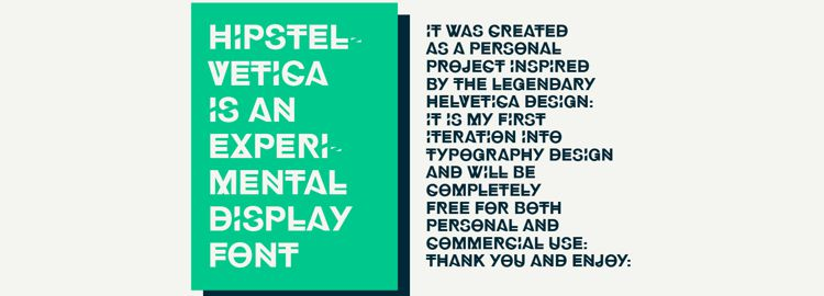 Hipstelvetica designers freebies
