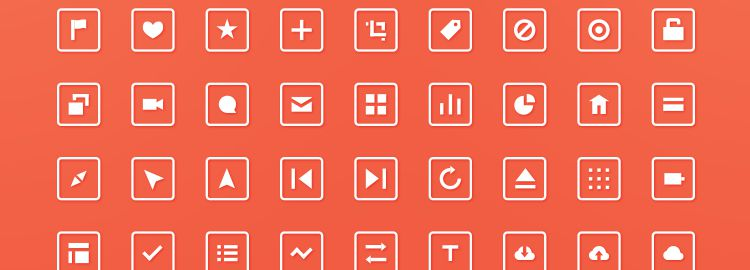 Squared Icons designers freebies