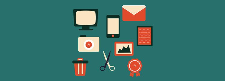 Retro Icon Set 9 Icons AI designers freebies