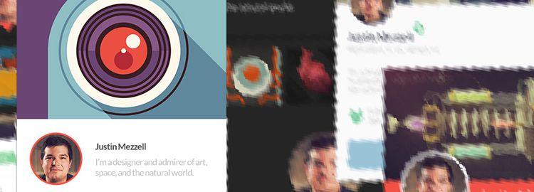 7 Profile Ui Templates PSD designers freebies