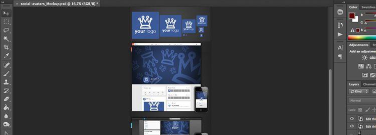 Social Media Artwork Template PSD designers freebies