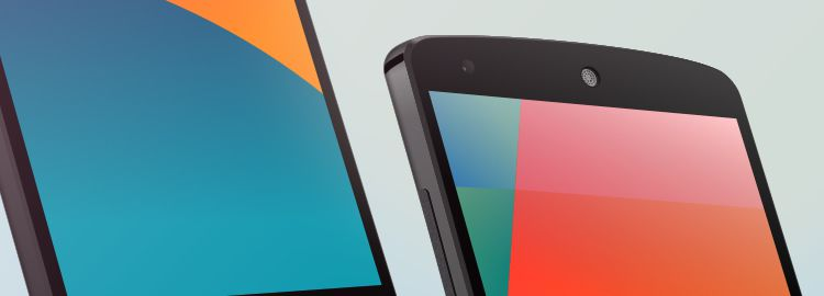 Nexus 5 Template Sketch designers freebies