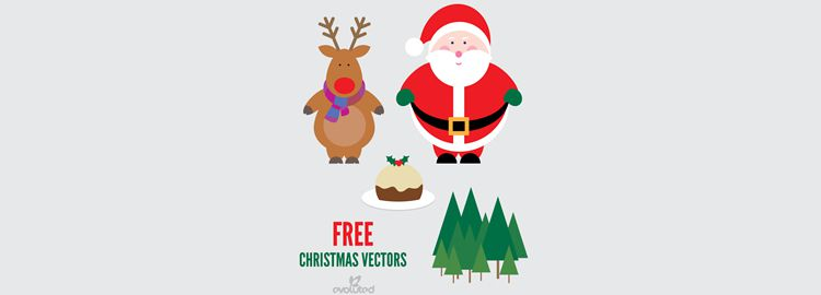 Christmas Vectors AI, EPS & JPG designers freebies