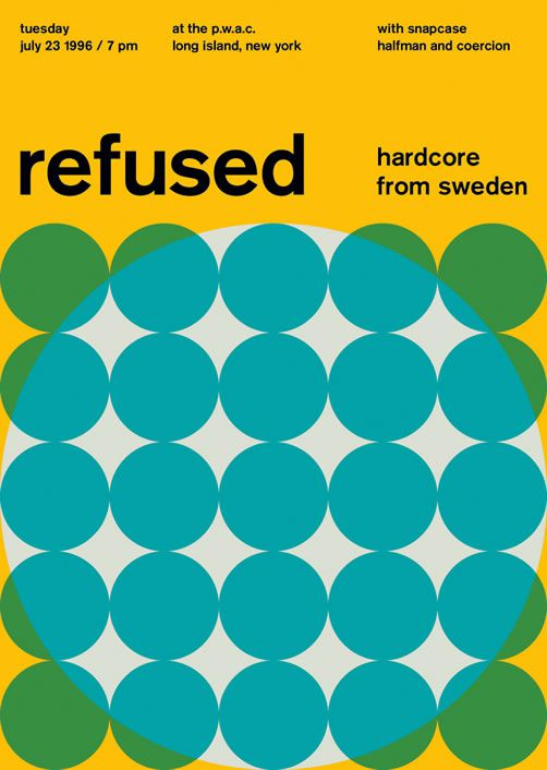 Refused poster