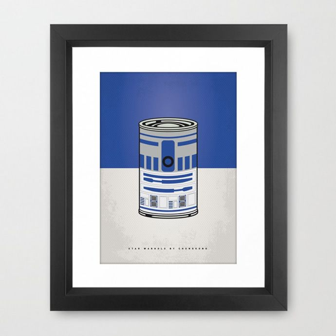 star wars andy warhol r2-d2 poster