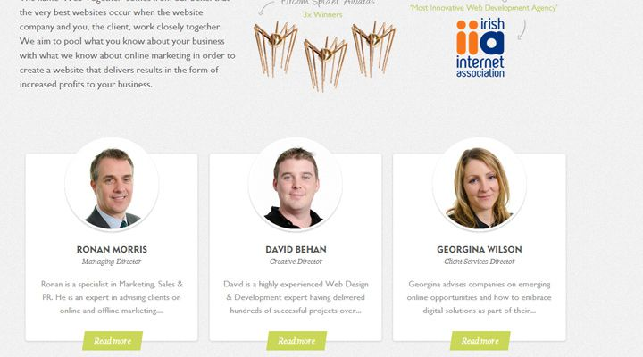 web together company about team members employees