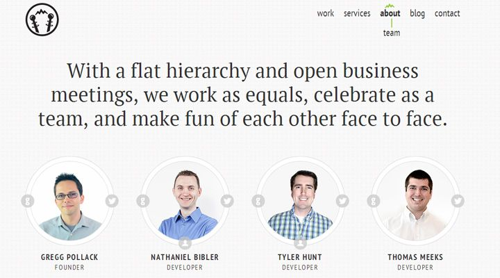 envy labs website design studio team members employees
