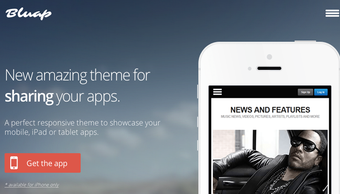themeforest wordpress theme bluap animated css3 keyframes example