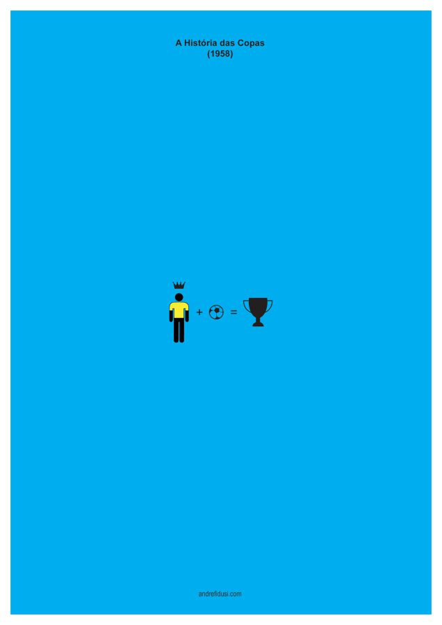 1958 Fifa World Cup Minimalist Poster Series
