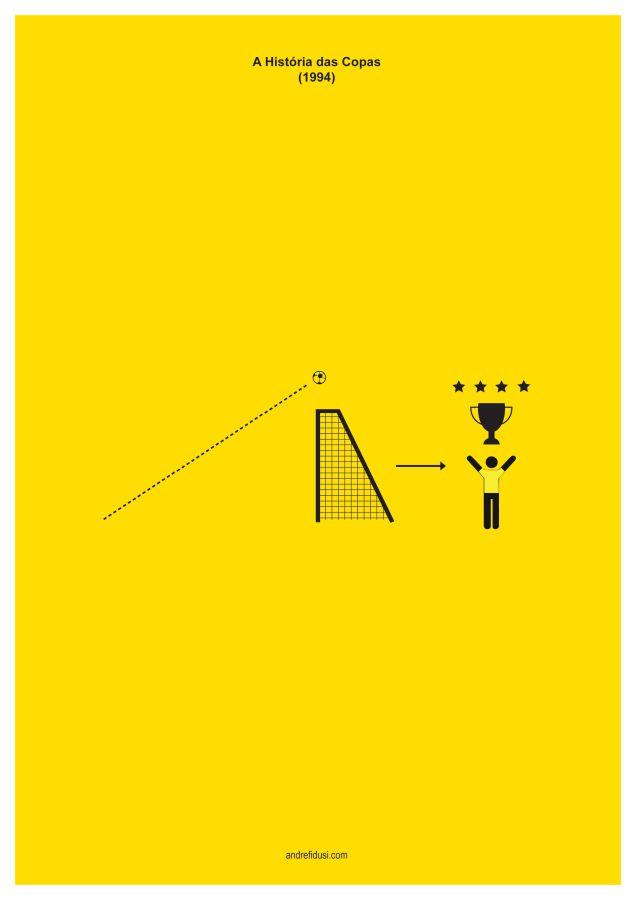1994 Fifa World Cup Minimalist Poster Series