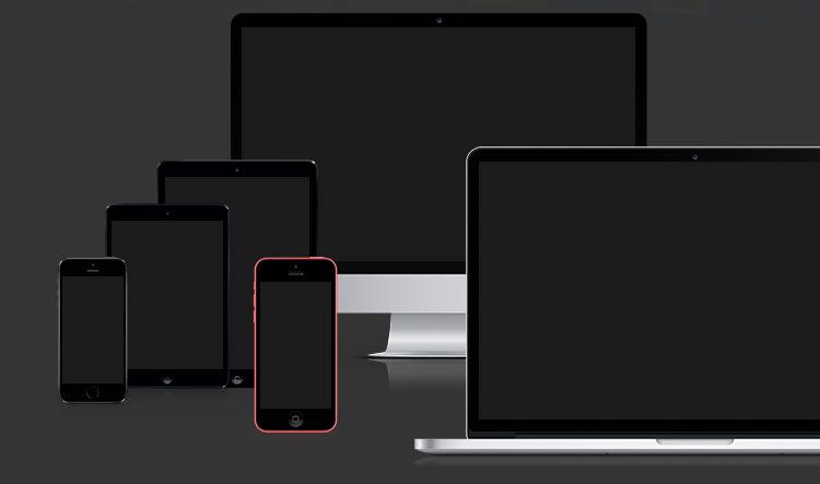 Apple Devices Mockup - Weekly Design News