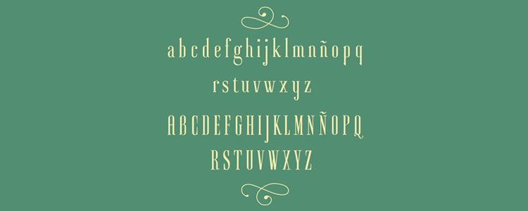 Ayresfont designed by Mariel Gornati free typeface
