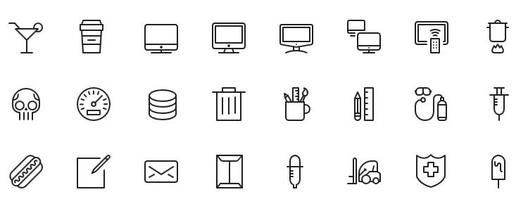 iOS7 Vector Icons designers freebies