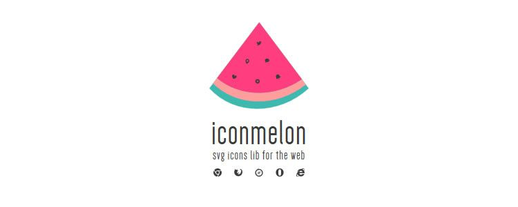 Iconmelon - SVG Icon Library for the Web designers freebies
