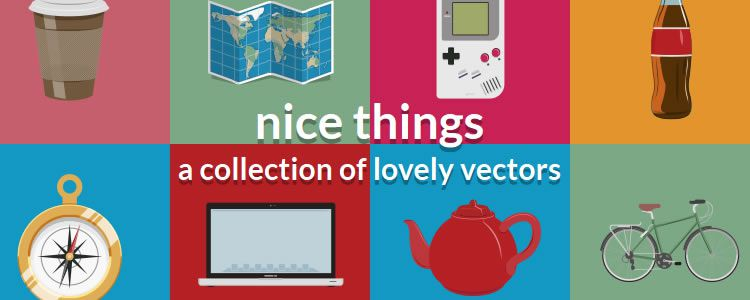 Nice Things - A collection of lovely vectors designers freebies