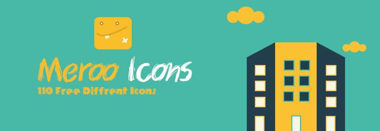 Meroo icon set freebies designers