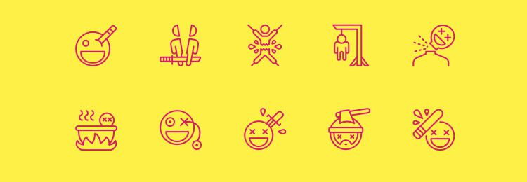 Nasty Icons freebies designers