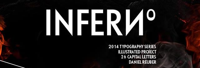 Inferno Typography Fire Typography 2014 Series Splash Screen