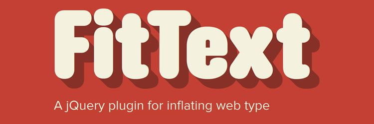 FitText scalable headlines responsive layouts