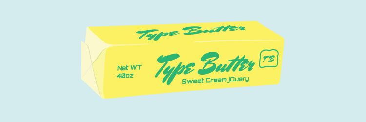 TypeButter set optical kerning font website