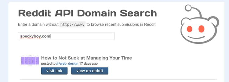 building a simple Reddit API webapp - Weekly Design News