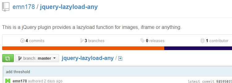 jquery-lazyload-any - A jQuery plugin for lazyloading anything - Weekly Design News