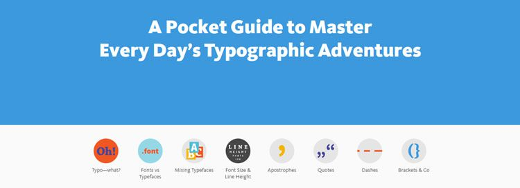 A Pocket Guide to Master Every Day's Typographic Adventures - Weekly News