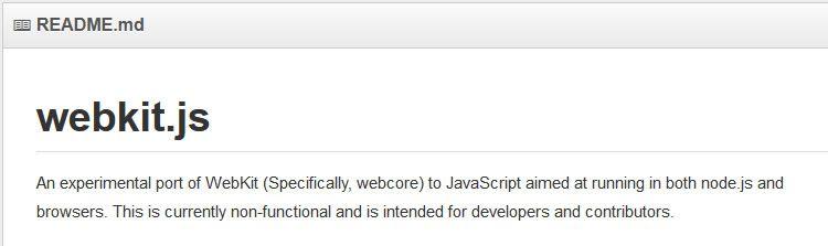 Webkit.js - Weekly News