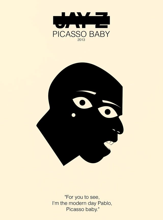 Jay-Z - Picasso Baby Rap Poster Series