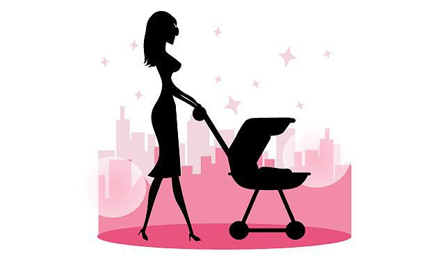 Mother's Day - Mommy Walking Baby Vector fresh best free vector packs kits